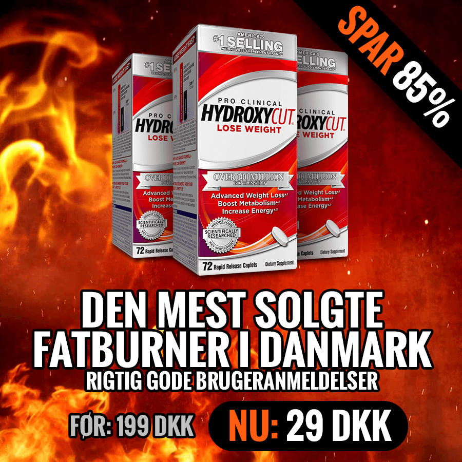 HydroxyCut Clinical | Fatburneren over dem alle fra MuscleTech